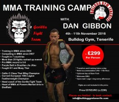 mma training camp bulldog gym