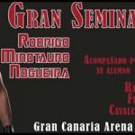 Seminario Rodrigo Minotauro Nogueira en Gran Canaria