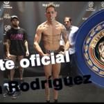 Cristian Rodríguez, aspirante oficial al título UE