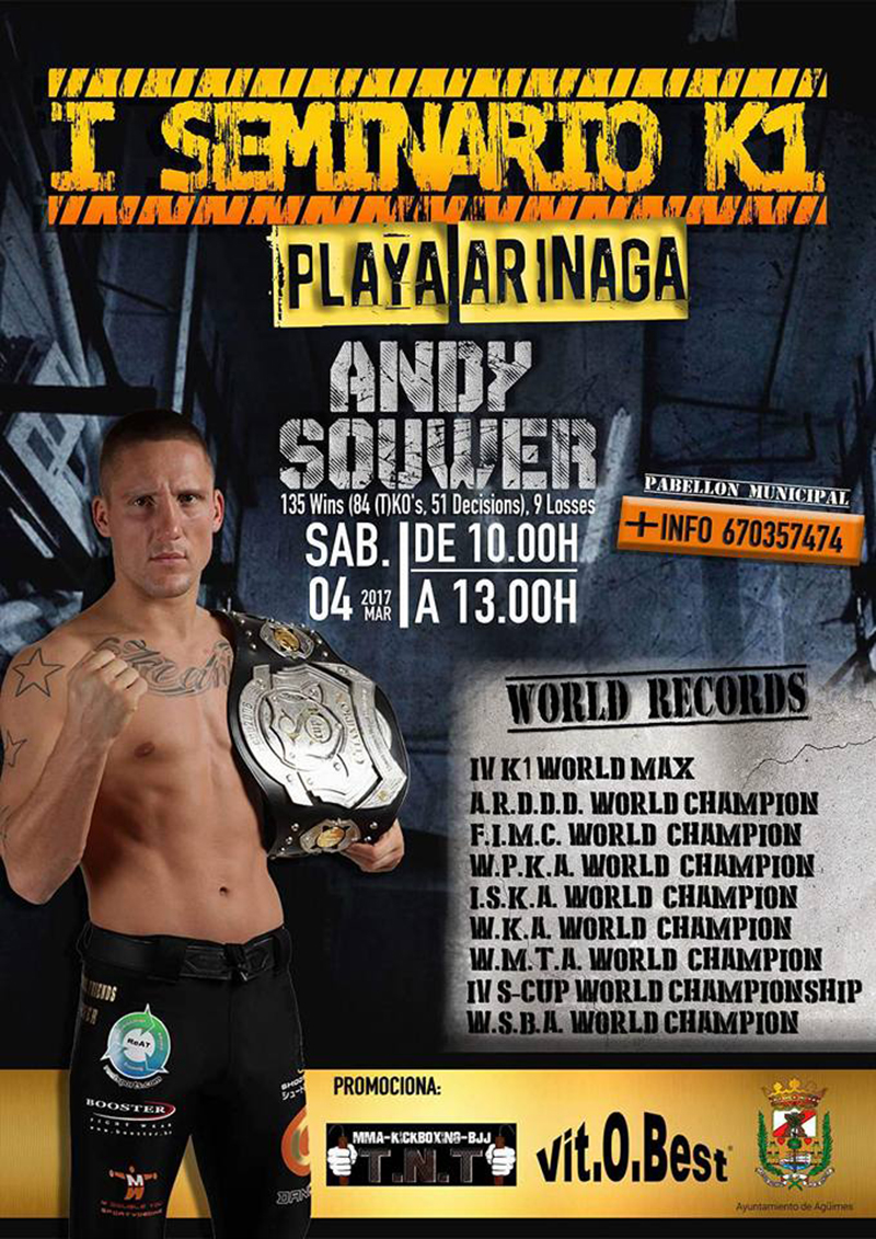 seminario Andy Souwer