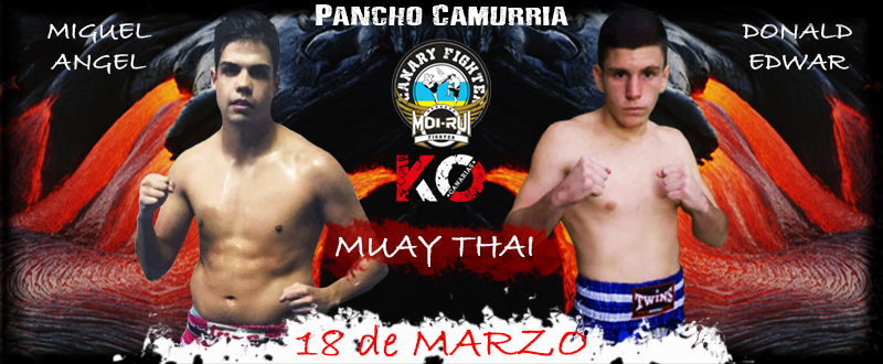 MIGUEL ANGEL VS DONALD 18 MARZO