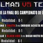 Finales campeonatos Canarias Kickboxing