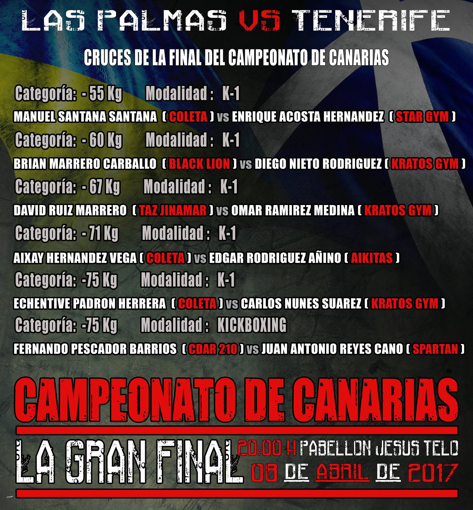 finales campeonato canarias