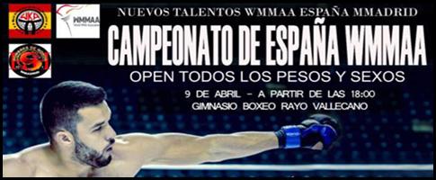 campeonatos españa MMA
