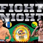 Lugar pesaje Fight Night