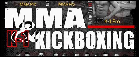 mma k1 kickboxing