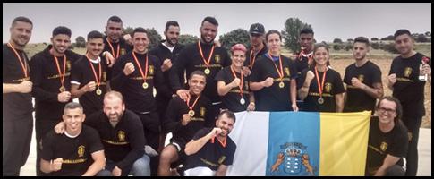 selección Canaria Kickboxing 2017