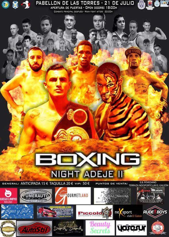 boxing night II Adeje