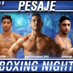 Fotos pesaje Boxing Night