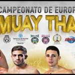 Fight Card velada campeonato Europa Muay Thai