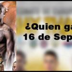 ¿Quien ganará el 16 de Septiembre? vota por tu favorito