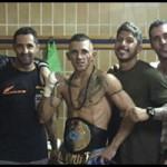 Isaac Araya campeón de España Muay Thai