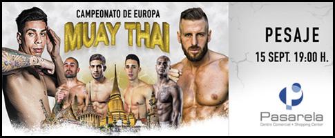 pesaje campeonato europa muay thai