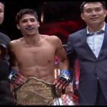 Vídeo resumen combate Oscar Suárez en Kunlun Fight MMA