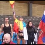 Kathaiza Delgado campeona de Europa Muay Thai