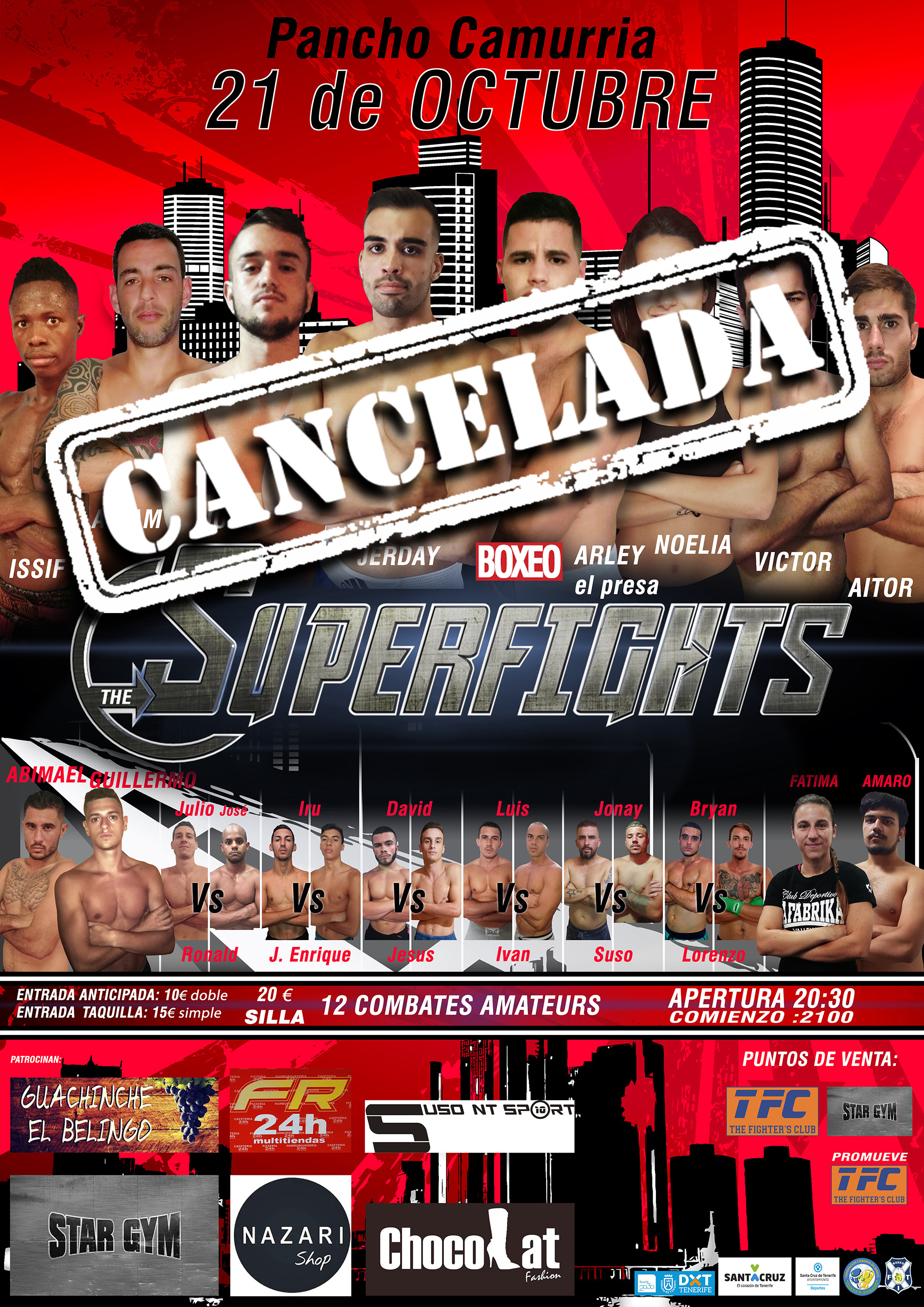 superfights cancelada