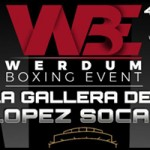Cartel velada Werdum Boxing Events