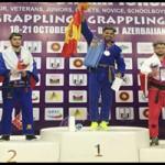 Yusef Kaddur campeón del mundo Grappling Gi