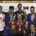Medallas canarias en el Spain National Pro Jiu Jitsu UAEJJF