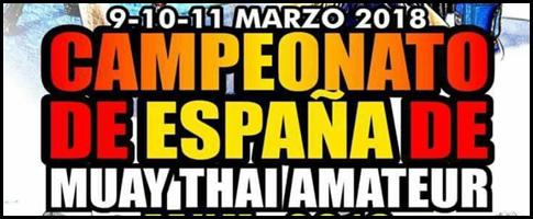 campeonatos de España de Muay Thai