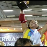 Cathaysa Delgado campeona del Mundo de Muay Thai Boran