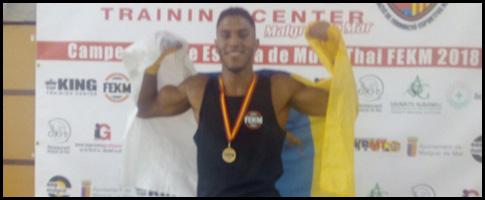marcel campeon españa muay thai