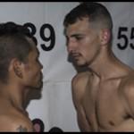 Fotos pesaje Ofra Huele a Boxeo