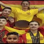 11 medallas para la escuela Mar Rodríguez