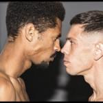 Fotos pesaje Boxeo Profesional