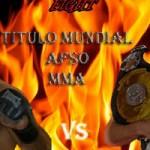Ushiro Fight Night 6, campeonato del mundo MMA AFSO