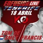Francis Vs Tom De Smet, ENFUSION LIVE Tenerife