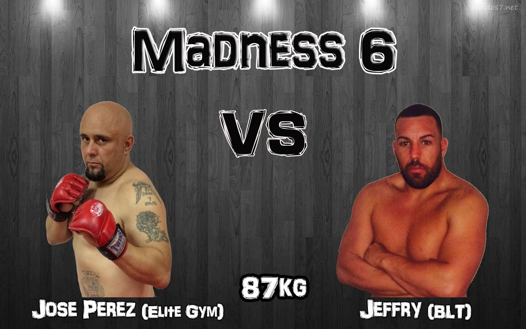 Jose Perez (Elite Gym) vs Jeffry (BLT) 87kg