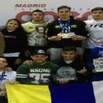 Los canarios arrasan en el Open Madrid IBJJF