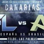 Fight Card para AFL-8 Canarias