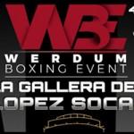 Cartel velada Werdum Boxing Events