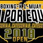 Copa por equipos Kickboxing, K1 y Muay Thai